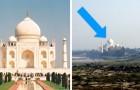 10 lieux très célèbres vus d'un point de vue différent... que vous n'auriez jamais imaginé