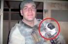 Ein Junge stirbt während des Irak-Krieges: seine Eltern beschließen, den von ihm geretteten Welpen zu adoptieren
