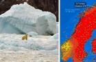 Rekordtemperaturen am Polarkreis: Das Schmelzen des Eises ist an einem Punkt, an dem es kein Zurück mehr gibt