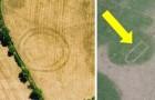 Ondata di caldo in Gran Bretagna: nei campi appaiono incredibili