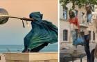 18 sculptures peu connues qui ont défié et vaincu les règles de la gravité.