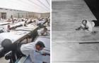 Leben vor AutoCAD: Diese Fotos zeigen uns, wie hart die Arbeit der Designer war