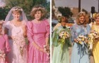 10 photos vintage de mariages qui vous feront réaliser à quel point les modes du passé étaient bizarres