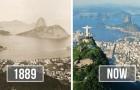 Queste 13 foto prima- dopo di città famose mostrano quanto siano cambiate in pochissimo tempo