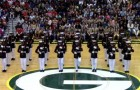 24 Marines put on a mind-blowing performance leaving all the students breathless with excitement!