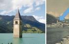 Dies ist die traurige Geschichte des Glockenturms, der aus dem Reschensee aufragt
