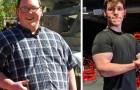 Este cara perdeu 108 kg em somente 2 anos: a sua história é um convite para não inventar mais desculpas