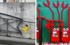 21 exemples de street art qui vont révolutionner votre regard sur la ville
