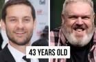 12 confronti di personaggi famosi con i quali ti renderai conto della loro vera età