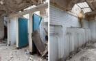 Eine Frau kauft alte öffentliche Toiletten und macht sie zu ihrem Traumhaus
