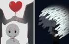 Ces illustrations racontent des sentiments très communs... dont on ne parle presque jamais
