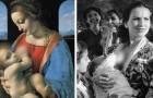 Diese Bilder zeigen uns, dass das öffentliche Stillen eine Praxis ist, die früher ganz normal war