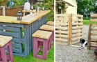 10 useful and inexpensive ideas to improve your home using wooden pallets
