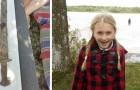 Une fillette de 8 ans retrouve une épée pré-Viking dans un lac suédois, et certains la veulent déjà Reine