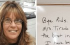 A teacher gives her students low scores for not completing their homework and is fired for not respecting school policy