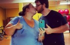 Una coppia in sovrappeso decide di mettersi a dieta: il traguardo che raggiunge supera ogni aspettativa