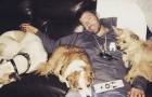 A este hombre no le queda mucho por vivir, pero gracias a estos 3 perros sucede algo de milagroso