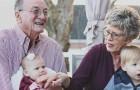 5 cose meravigliose che avvengono quando i figli crescono a contatto con i nonni