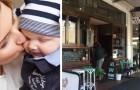 Questo bar offre una poltrona e una tazza di tè gratis alle neomamme che devono allattare