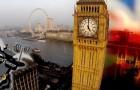 Londres vista desde un drone de modo original