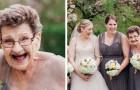 La mariée demande à sa grand-mère d'être demoiselle d'honneur... et le résultat est grandiose !
