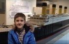 A boy with autism builds the biggest Titanic replica ever made with LEGOs
