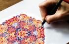 Os maravilhosos benefícios de colorir a mandala
