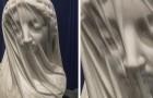 De Gesluierde Maagd: het werk waarin het marmer een buitengewone verfijning krijgt, gecreëerd door een Italiaanse beeldhouwer