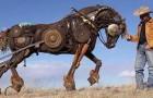 Deze Amerikaanse kunstenaar transformeert oude landbouwwerktuigen in ongelooflijke realistische sculpturen