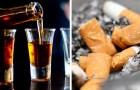 Eine Studie bestätigt: Die tödlichsten Drogen der Welt sind Alkohol und Tabak