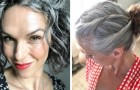 These women have stopped coloring their hair and now proudly show off their natural silver locks