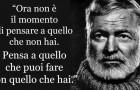 12 frasi di Ernest Hemingway che nella vita ti tornerà molto utile ricordare