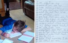 A 10-year-old autistic boy writes a poem about his condition and his words are very moving