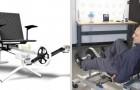 La cyclette in grado di fornire energia elettrica per un giorno intero