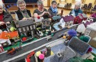 These ladies have recreated a miniature model of their village made entirely of crochet!
