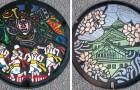 In Japan sind Schächte echte Kunstwerke: Durch die Straßen zu gehen ist wie ein Museumsbesuch
