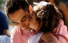 Do not force children to kiss adults! Children have every right to decide with whom and how they want to relate