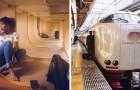 Von außen sind japanische Nachtzüge genauso wie alle anderen, aber in ihrem Inneren verstecken sie eine wahre Oase des Friedens