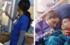 Elle prend secrètement une photo de l'infirmière qui s'occupe de sa fille et révèle à tous son comportement