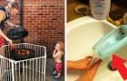 20 geniale ideeën bedacht door ouders om het leven gemakkelijker te maken... Het proberen waard!