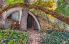 Cette maison de hobbit cachée dans le sol est un rêve devenu réalité : les intérieurs sont fabuleux