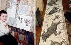 Ce garçon a commencé à dessiner à 2 ans : rapidement il s'est révélé être un prodige