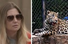 Viene attaccata da un giaguaro in uno zoo mentre cerca di farsi un selfie. L'incidente solleva molte polemiche