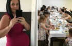 This woman has been pregnant for a total of over 15 years and she has just given birth to her 21st child
