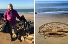 Una nonna di 70 anni pulisce 52 spiagge in un anno e ci insegna che non è mai troppo tardi per darsi da fare