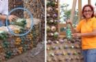 Une ex-avocat construit des maisons avec des bouteilles en plastique pour les gens qui ne peuvent pas se permettre les briques