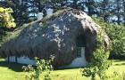 L'ancienne tradition danoise des maisons aux toits d'algues : les images semblent provenir d'un conte de fées