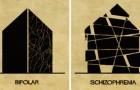 Un illustratore italiano descrive i disturbi mentali usando l'architettura, e i risultati sono opere d'arte