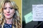 Eine behinderte Frau findet eine unangenehme Nachricht auf ihrer Windschutzscheibe: Ihre Antwort begeistern Tausende