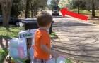 Tous les mardis, cet enfant attend l'arrivée des éboueurs : leur amitié particulière vous réchauffera le cœur